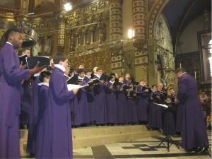 GCC at Basilica Montserrat